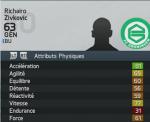 Jeune talent mode carrière FIFA 14 - Zivkovic